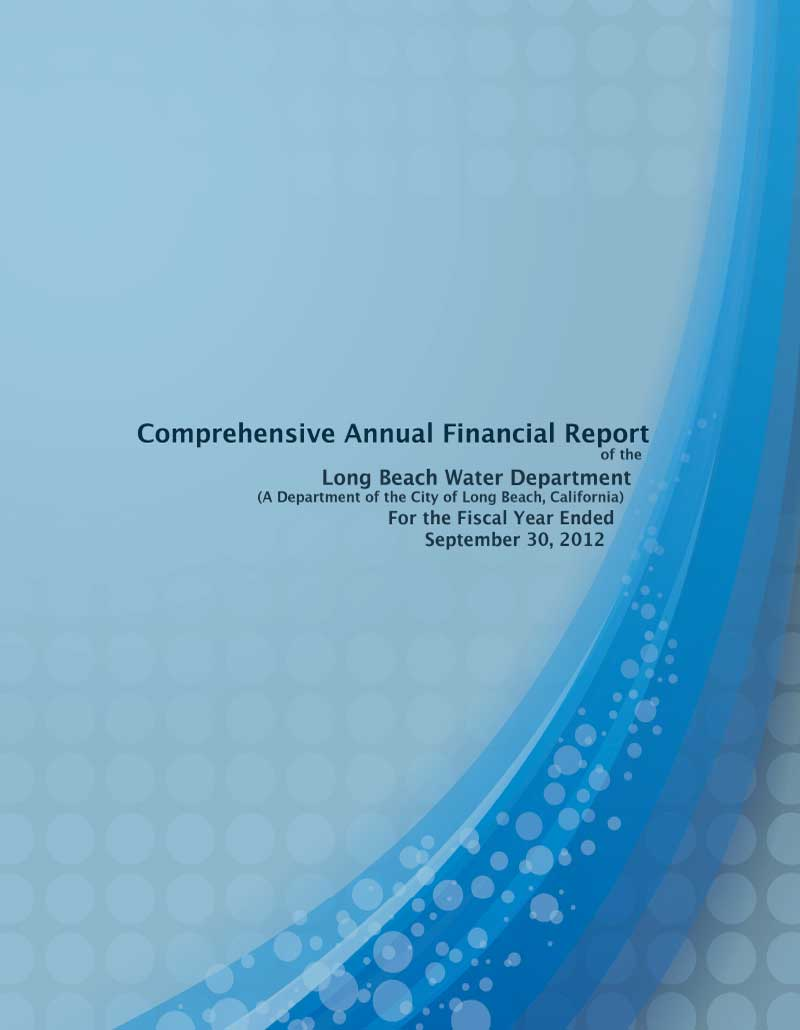 FY 2012 - LBWD Comprehensive Annual Financial Report