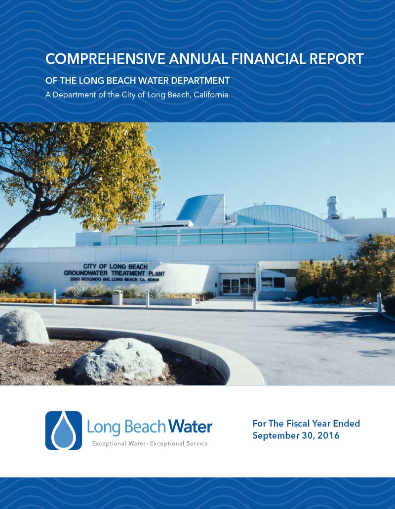 FY 2016 - LBWD Comprehensive Annual Financial Report